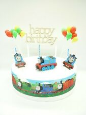 CAKE Topper Compleanno Decorazione Figura-Thomas the Tank-Set di decorazione