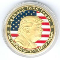 USA Medal 45 the President Donald John Trump D.40mm, Gewicht:29,21g, UNC.-