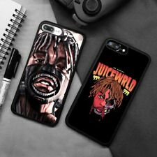 Juice WRLD Hip Hop Rapper Silicone Phone Case Cover For iPhone Samsung Galaxy