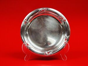 Spring Glory Sterling Silver Sandwich Plate A superb example of Art Deco design.