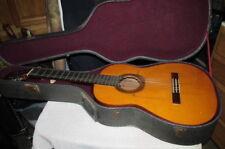Rare Eduardo Ferrer Flamenco Guitar With Case Appears To Be Dated 1941