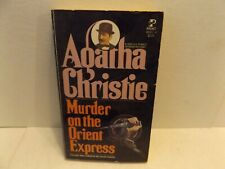 MURDER ON THE ORIENT EXPRESS by Agatha Christie 1960 Pocket Books paperback