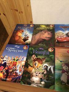 15 Libri Disney Hachette - Spedizione Con Pacco