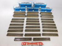 CN792-3# 50x Märklin H0/AC 5106 Gleisstück gerade (M-Gleis), sehr gut+OVP