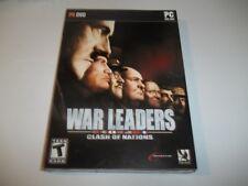 War Leaders - Clash of Nations (PC DVD-Rom, Windows 2000/XP/Vista) NICE
