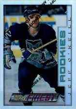1995-96 Topps Finest Refractor Jeff O'Neill #96