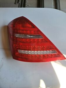 2010-2013 Mercedes Benz W221 S400 S550 S63 AMG Left Side Tail Light