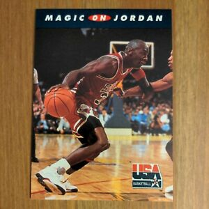 Michael Jordan 1992 SkyBox USA Basketball #105