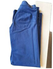 SALSA Jeans Secret Push In W32 L32 Cotton Blue High Waist Straight leg Boot Cut