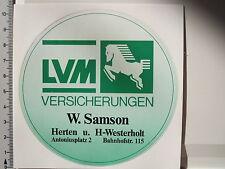 Aufkleber Sticker LVM - W.Samson - Herten (1648)