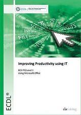 BCS ITQ Level 1 Improving Productivity Using IT by CiA Training Ltd   Spiral-bou