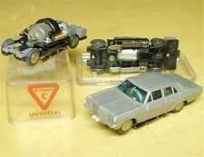 1960s Rasant W German Silver Opel Admiral HO Slot Car