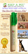Add telomere lengthening and anti-oxidant support to your pet's -Keep-A-Pet™