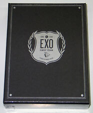 EXO - EXO's First Box DVD [4Discs+Earphone Winder+Gift Photo] KPOP K-POP