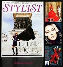 MONICA BELLUCCI ANNA DELLO RUSSO VALENTINO MILAN EDITION STYLIST MAGAZINE NOV 12