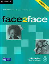 CAMBRIDGE face2face Intermediate B1+ SECOND EDITION Teacher's Book +DVD @NEW@