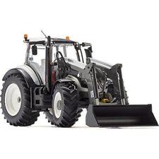 Vehículos agrícolas de automodelismo y aeromodelismo tractores de plástico de color principal gris