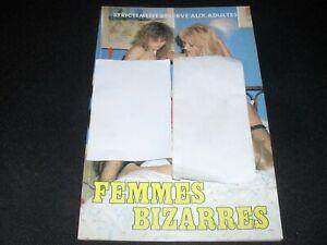 CURIOSA ROMAN-PHOTOS (FEMMES BI----RES)  1995 ; 50 pages env    BON ETAT