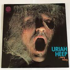 Uriah Heep : Very Eavy Umber Vertigo Swirl 1970 1st Press Ex !!