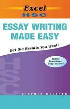 Excel Study Guide: HSC Essay Writing Made Easy Year 12-New HSC English Area of S