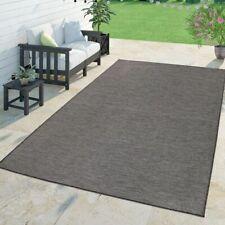 Moderner Outdoor Teppich Wetterfest Für Innen- Und Außenbereich Meliert In Grau