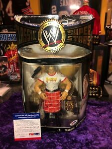 WWF WWE ROWDY RODDY PIPER AUTOGRAPHED CLASSIC SUPERSTARS FIGURE PSA DNA RARE