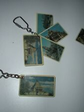 Melbourne scenes from around the 1980's plastic swivel key ring
