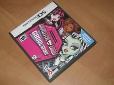 MONSTER HIGH GHOUL SPIRIT Nintendo DS Game - Works Perfectly/Complete