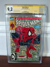 Spider-Man #1 - CGC SS 9.2 - Signed by Todd McFarlane, Marvel Comics