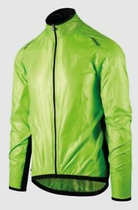 Assos Men's Mille GT Blitz Cycling Jacket - Green - Small, New w/ Tags