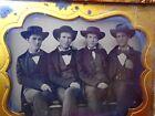 Vintage Ambrotype Photo  Civil War Soldiers???