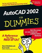 AutoCAD 2002 for Dummies by Bud E. Smith and Mark Middlebrook (2001, Paperback)