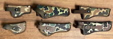 Lot Of 6 - Camo Uncle Mike's and Gould & Goodrich Holsters