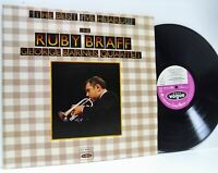 RUBY BRAFF / GEORGE BARNES QUARTET the best i've heard DOUBLE LP EX/EX, VJD 519