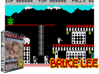 Sinclair ZX Spectrum 48K Game - BRUCE LEE - US GOLD - Tested & Working - Classic