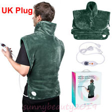 ELECTRIC WARMING HEATING PAD NECK SHOULDER BACK COLLAR HEAT THERAPY WRAP BODY