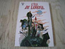 L'ïle de Lorose - Toshy - Editions Ankama - EO 1ère édition 2010