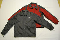 The North Face Mens Hyvent Triclimate Jacket W/ Puffer Liner Med Red/Gunmetal