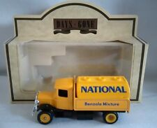LLEDO DAYS GONE 1934 MACK TANKER TRUCK NATIONAL BENZOLE DIECAST BOXED
