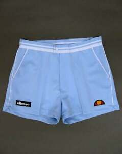 Ellesse Tennis Shorts in Sky Blue - retro 80s short shorts, Tortoreto, pockets