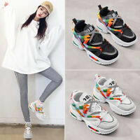 Womens Retro Casual Athletic Shoes Fashion Walking Sports Running Sneakers Shoes