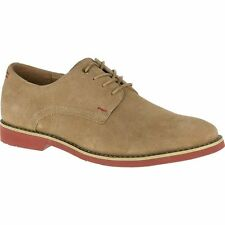 Hush Puppies Suede Lace-up Round Toe Formal Shoes for Men