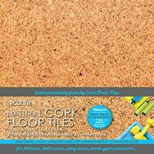 NICOLINE 5mm Sealed Cork Floor Tiles 0.80m2, Natural, 316-SLF