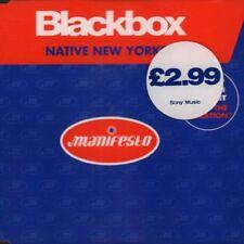 Blackbox(CD Single)Native New Yorker-Manifesto-New