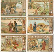 Chromo Liebig Sang. 750 ITA Storia Sacra VII ANNO 1903