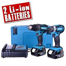 MAKITA DLX2131MJ 18v Li-ion 4.0Ah Cordless 2 Piece Kit