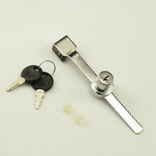 Display Case Sliding Glass Push Door Keyed Lock For Showcase Cabinet 2 Keys
