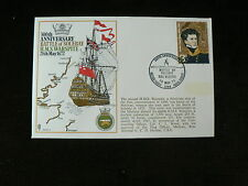 1972 Commemorative Cover, Battle of Solebay 1672, HMS Warspite