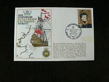 1972 Commemorative Cover, Battle of Solebay 1672, HMS Warspite