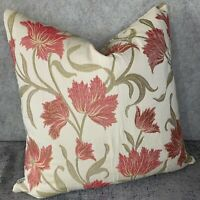 """Retro Style Cushion Cover 14/"""" 16/"""" 18/"""" 20/"""" Double Sided Scion /""""Dhurrie/"""" Fabric"""
